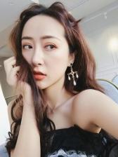 Vintage Baroque Style Rhinestone Pearl Earrings