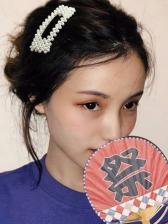 Korean Design Fashionable Pearls Hair Clip