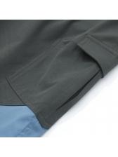 Chic Contrast Color Velcro Slacks For Men
