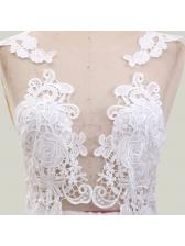 Sexy See-Through Wedding Long Evening Dress