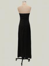 Sexy Sleeveless Long Strapless Tube Dress
