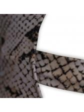Sexy Snake Print Bikini One-pieces