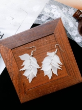 New Arrival Frosted Petal Earrings For Women