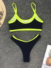 Sexy Contrast Color Bikini Sets For Women