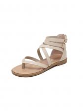 Roman Style Cozy Flat Thong Sandals