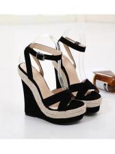 Street Wear Show High Wedge Ladies Sandals