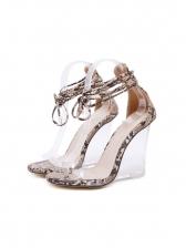 Fashion Serpentine High Wedge Ladies Sandals
