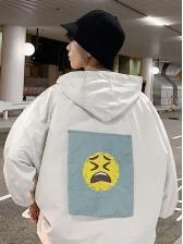 Casual Half Sleeve Hooded Jacket
