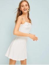 Hot Sale Ruffled Straps Dress For Women