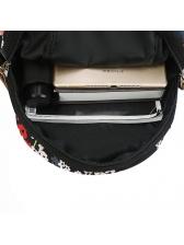 Versatile Printing Metal Hasp High Capacity Backpack
