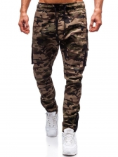 Hot Sale Casual Solid Camouflage Cargo Pants