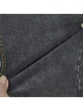 Hot Sale Gray Zipper High Waist Stretch Jeans