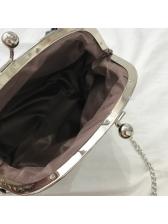 Easy Matching PU Metal Buckle Mini Shoulder Bag