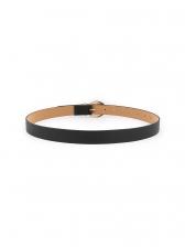 Easy Matching Metal Buckle Pu Belt For Women