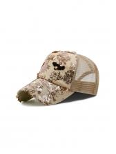 Summer Sequined Unisex Mesh Baseball Cap