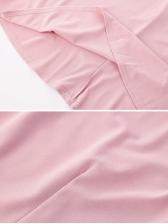 Doll Collar Gauze Panel Pleated Dress