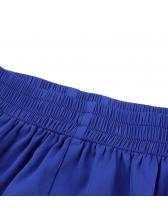 Hot Sale Elastic Fly Split loose Shorts