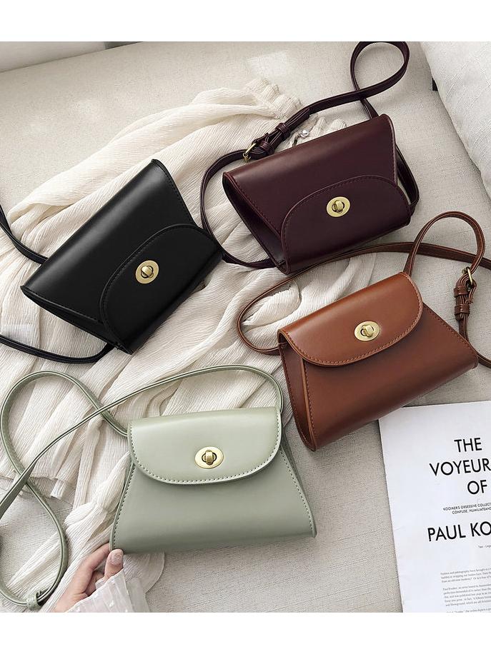 Adu8stable Belt Hasp Ladies Shoulder Bags