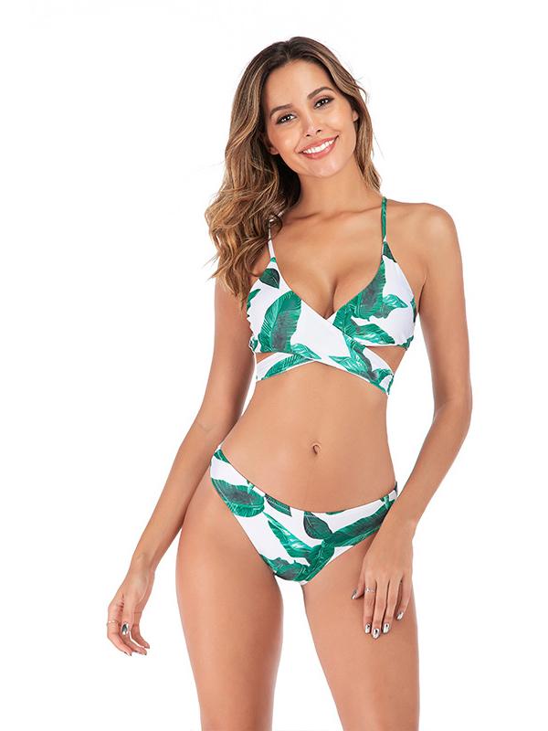 Sexy Printed Bikini Swimsuits Sets For Women