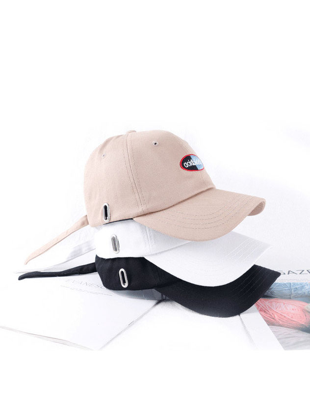Letter Embroidered Outdoor Unisex Baseball Cap