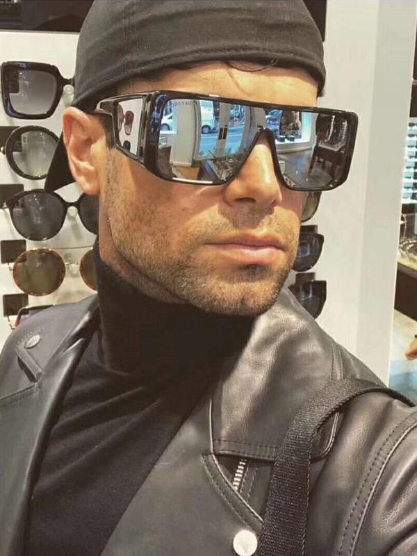 Stylish IntegratedCool Frame Men Sunglasses