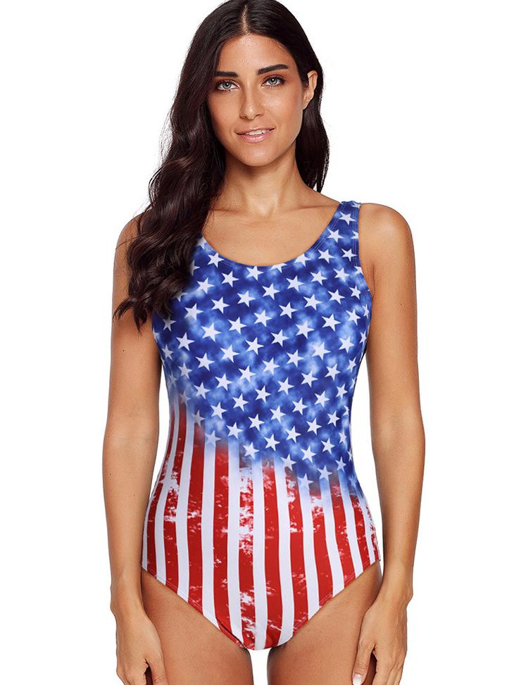 Hot Sale Gradient Color One Piece Swimsuit