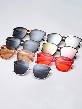 Vintage Round Frame Sunglasses For Women