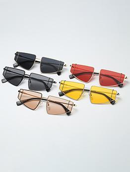 Stylish Punk Large Frame Irregular Sunglasses