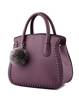 Fashion Large Capacity Solid Handbag For Women