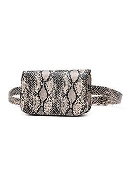 Snake Printed Bum Bags For Women