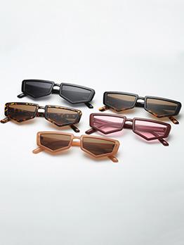 Retro Polygon Small Frames Unisex Sunglasses