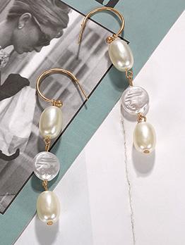 Easy Matching Pearls Ladies Earrings