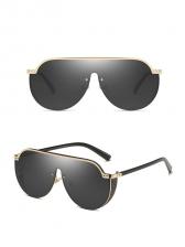Fashion Connected Large Frame Sunglasses For Women