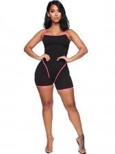 Summer U Neck Spaghetti Strap Sporty Yoga Rompers
