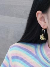 Cute Lemon Tea Teapot Earrings