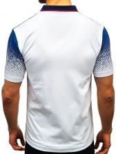 Hot Sale Contrast Color Polo Shirt