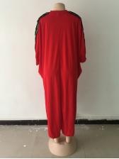 African Style Sequin Split Hem Maxi Dress