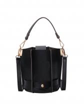 Fashion Solid Bucket Bag For Women