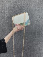 Ins Hot Sale Sequin Transparent Crossbody Bag