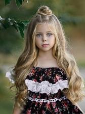 Off Shoulder Large Hem Floral Girl Maxi Dress