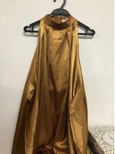 Fashion Solid Sleeveless Bow Halter Dress