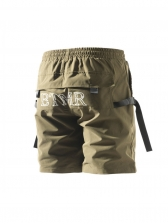 Casual Drawstring Two Pockets Shorts For Men