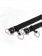 Heart Shape Design Solid Stylish Ladies Belts