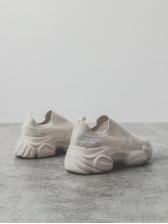 Trendy Breathable Upper Women Slip On Sneaker