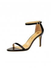 PatentLeatherSimple High Heeled Sandals