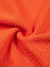 Letter Reflective Stripe Short Sleeve Dress