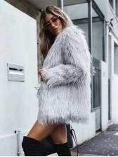 New Style Faux Fur Tassels Short Coats