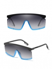 Large Frame Connected lenses Sunglasses