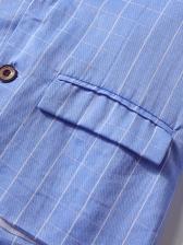 Plaid Blazer Design 2 Piece Outfits For Boys