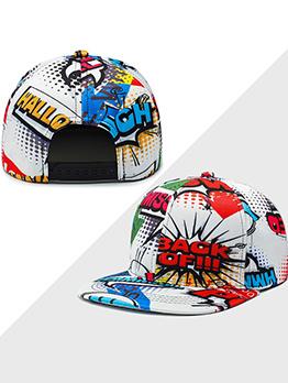 Hip-hop Poker Printed Unisex Baseball Cap